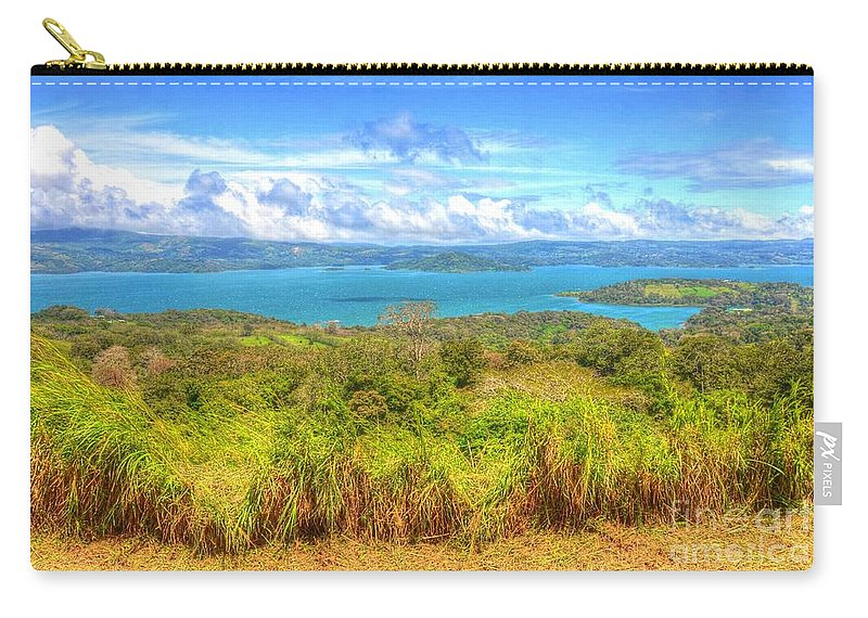 Costa Rica Carry-all Pouch featuring the photograph Costa Rica Landscape by Debbi Granruth