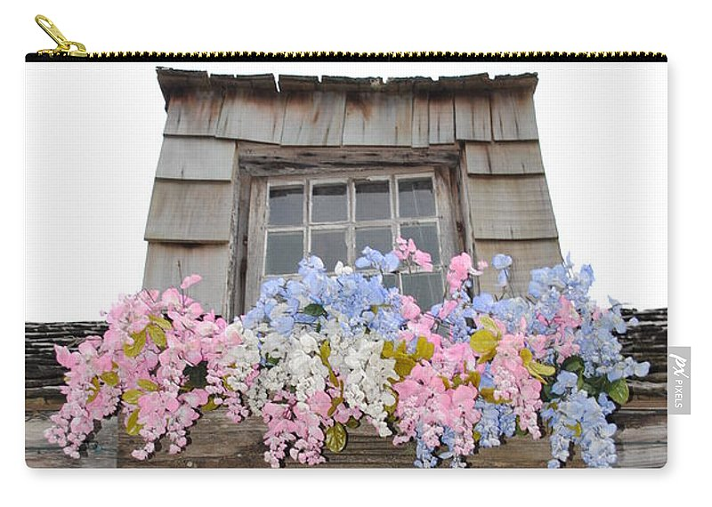 Window Carry-all Pouch featuring the photograph Country Window by Jost Houk