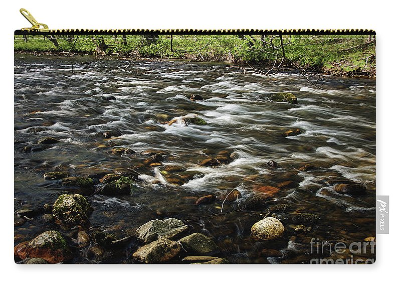 Nature Carry-all Pouch featuring the photograph Creek, Smoky Mountains, Tennessee by Stanton Tubb