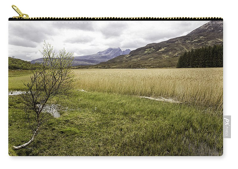 Cullins Carry-all Pouch featuring the photograph Cullin View by Fran Gallogly