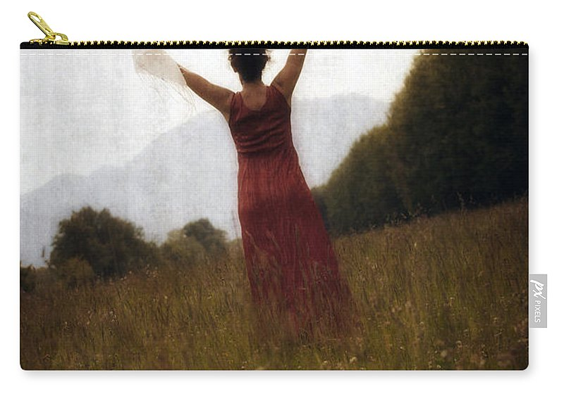 Female Carry-all Pouch featuring the photograph Dancing by Joana Kruse