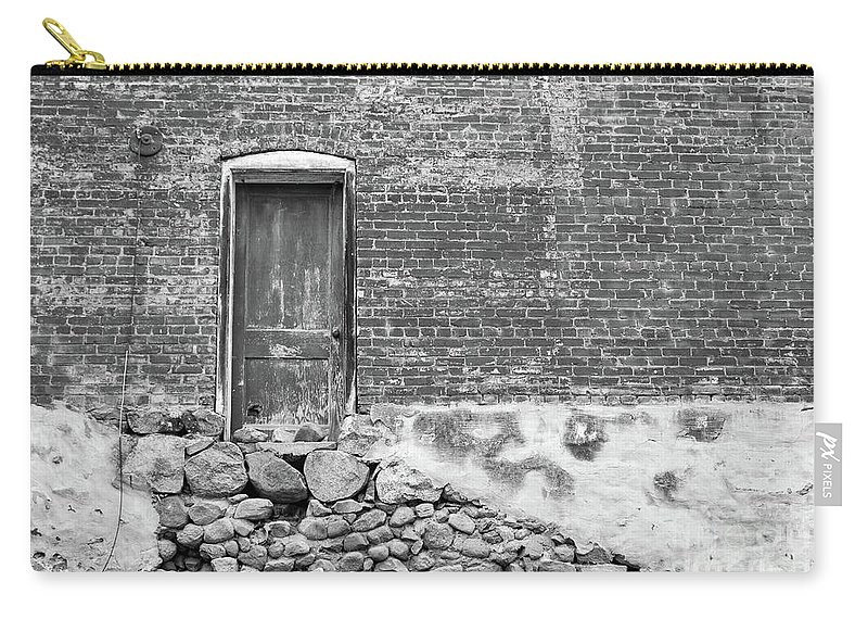 Building Carry-all Pouch featuring the photograph Days Gone By by Douglas Milligan