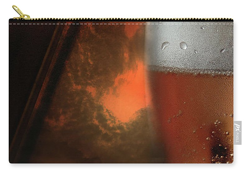 Vicki Ferrari Photography Carry-all Pouch featuring the photograph Dent Island Sunset by Vicki Ferrari