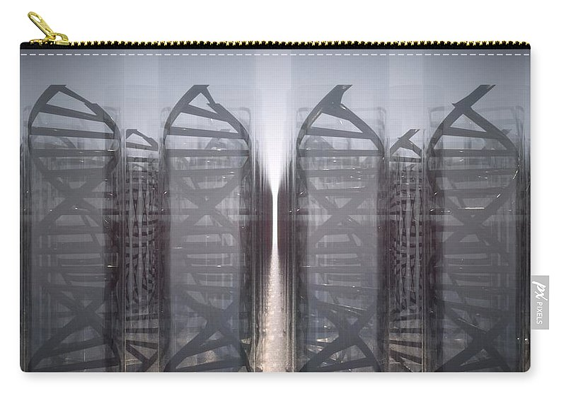 Dna Carry-all Pouch featuring the digital art DNA by Ryan Darling
