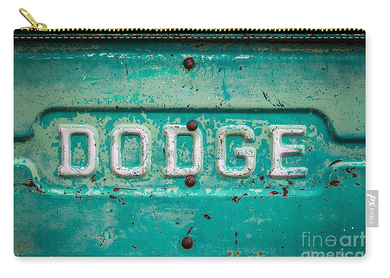 New Mexico Carry-all Pouch featuring the photograph Dodge by Ashley M Conger