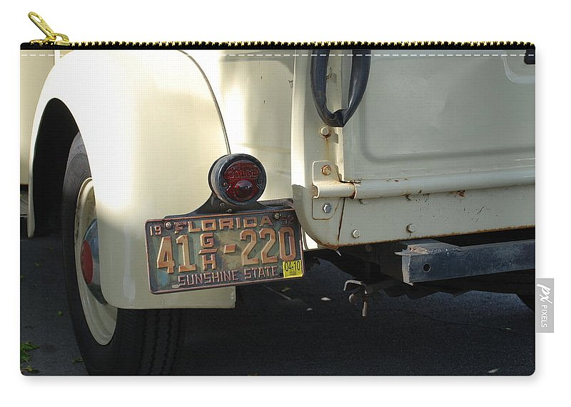 Truck Carry-all Pouch featuring the photograph Dodge by Rob Hans