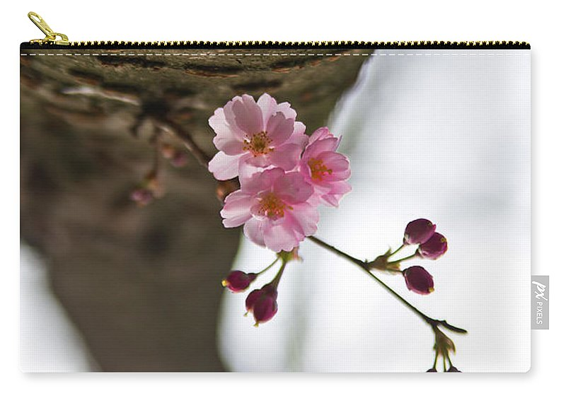 Flower Carry-all Pouch featuring the photograph Dreaming by Alex Art and Photo