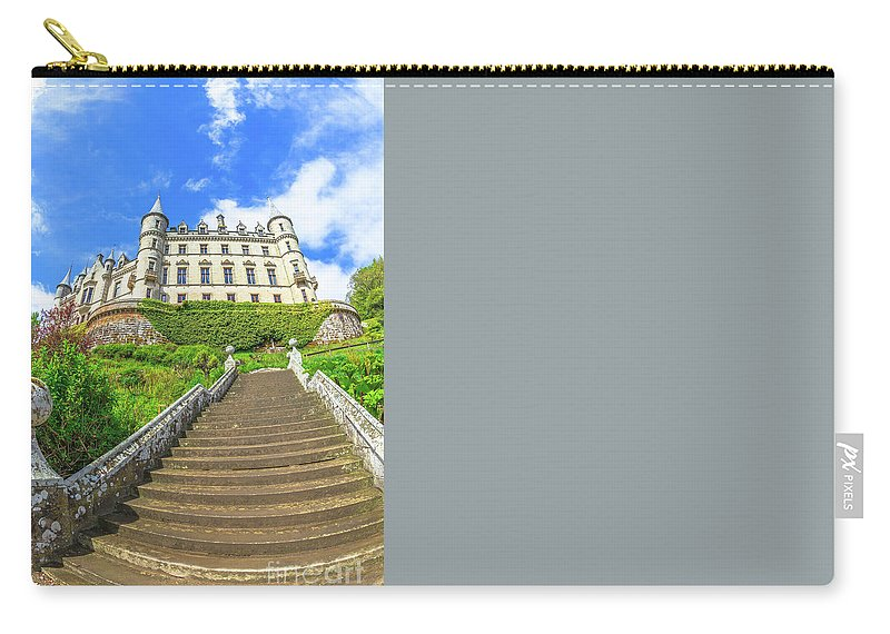 Dunrobin Castle Carry-all Pouch featuring the photograph Dunrobin Castle by Benny Marty