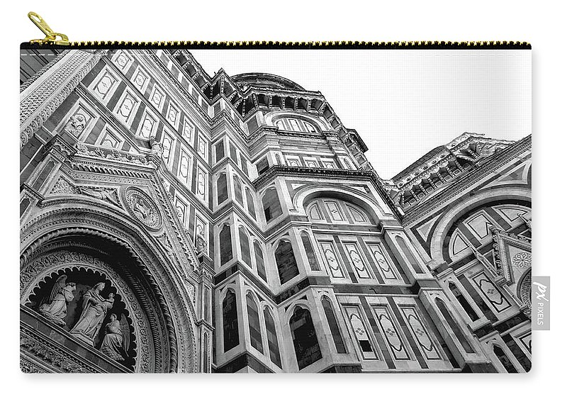Duomo Carry-all Pouch featuring the photograph Duomo De Florencia by Royce A Owens