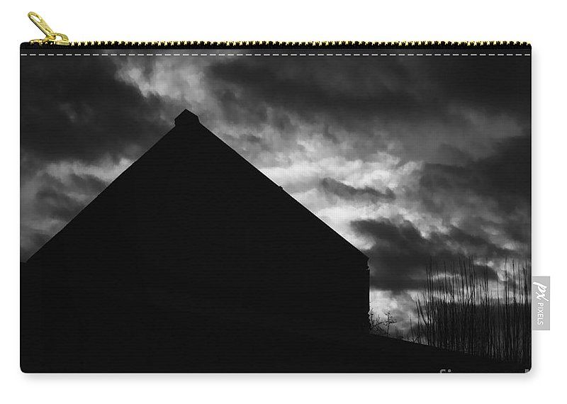 Black And White Carry-all Pouch featuring the photograph Early Morning by Peter Piatt