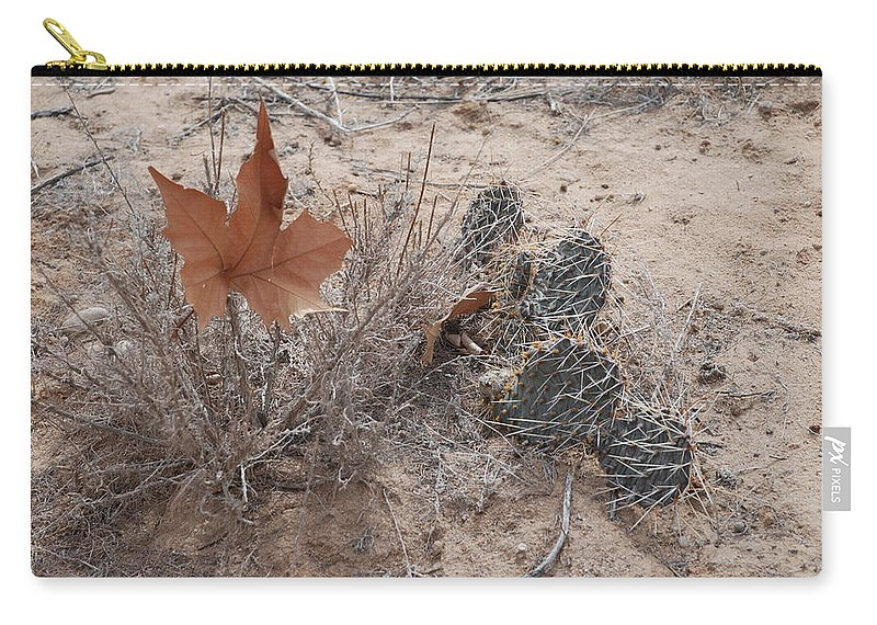 Desert Carry-all Pouch featuring the photograph East Meets West by Rob Hans