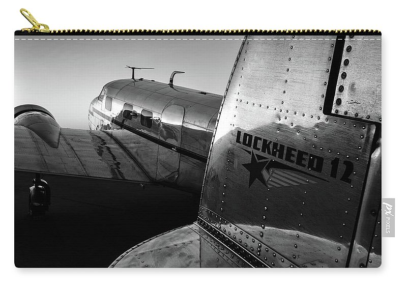 Gray Carry-all Pouch featuring the photograph Electra Daybreak by Chris Buff