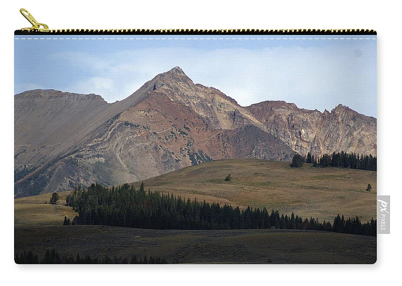 Lake Carry-all Pouch featuring the photograph Emerald Lake by Marty Koch
