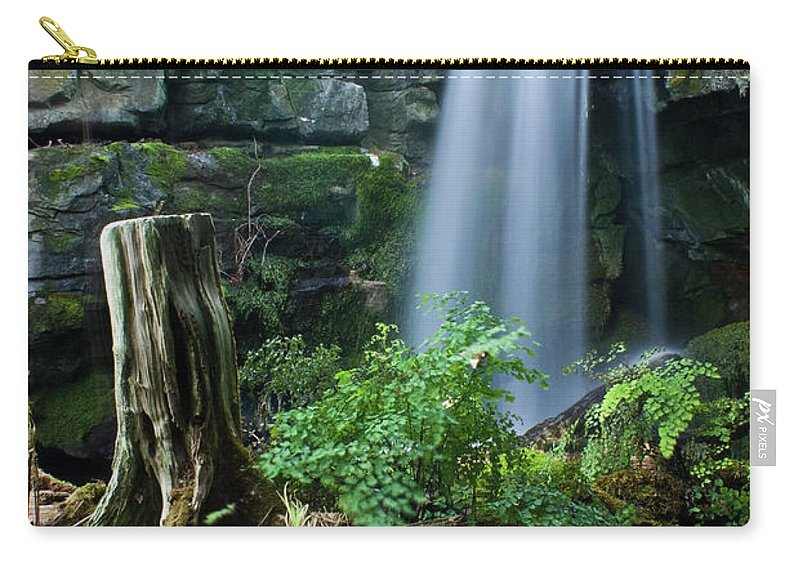 Fairy Carry-all Pouch featuring the photograph Enchanted Waterfall by Douglas Barnett