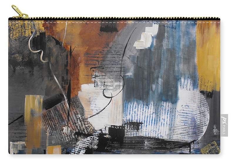 Abstract Carry-all Pouch featuring the painting Energy by Ruth Palmer