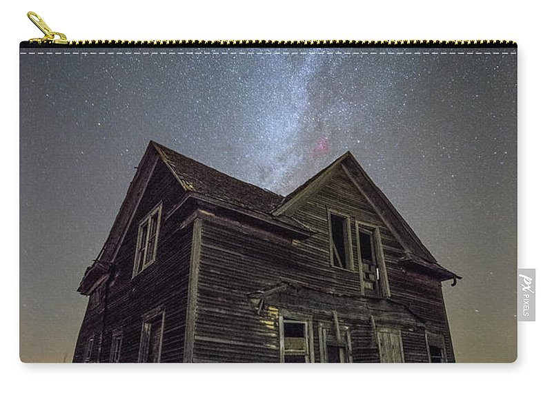 Milky Way Carry-all Pouch featuring the photograph Epiphany by Aaron J Groen