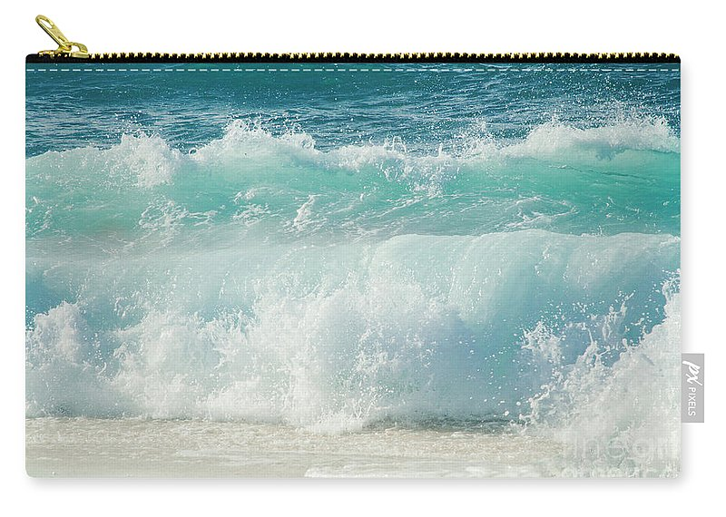 Beach Carry-all Pouch featuring the photograph Eternity In A Moment by Sharon Mau