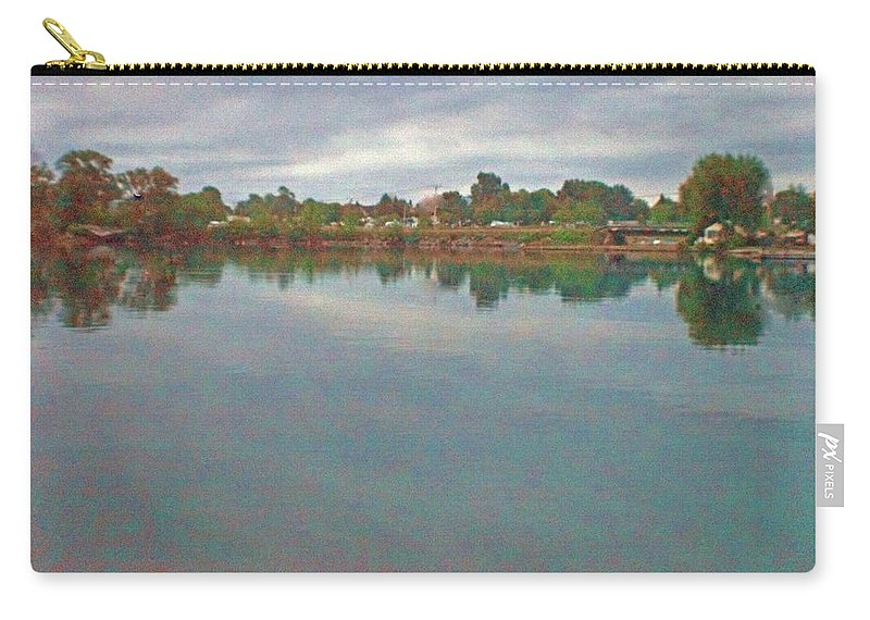 Facing East Carry-all Pouch featuring the photograph Facing East by Joseph F Safin