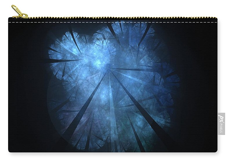 Tree Carry-all Pouch featuring the digital art Fairy-tale by Steve K