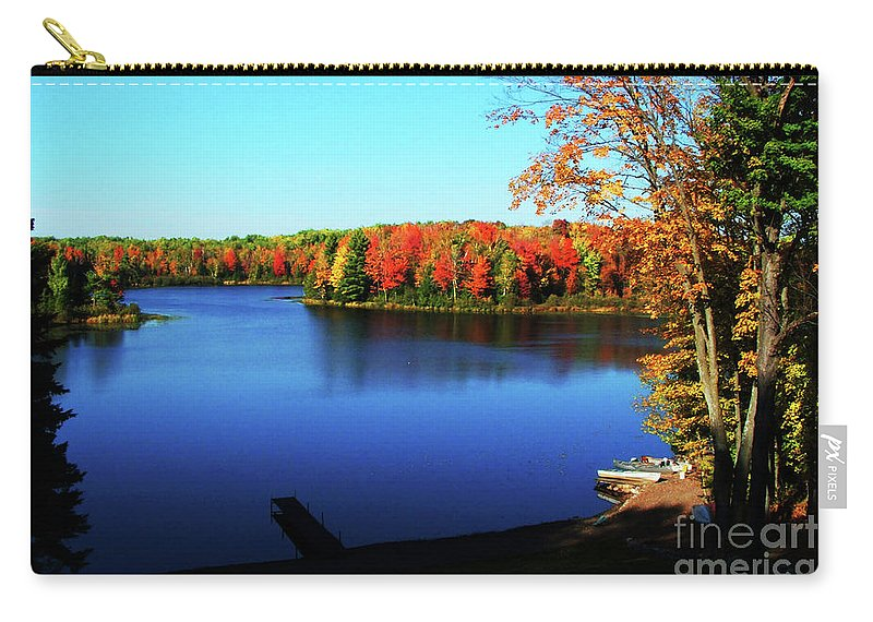 Fall Carry-all Pouch featuring the photograph Fall In Northern Wisconsin by Tommy Anderson
