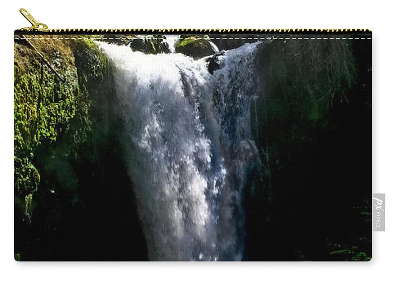 Falls Creek Carry-all Pouch featuring the photograph Falls Creek Falls by Albert Seger