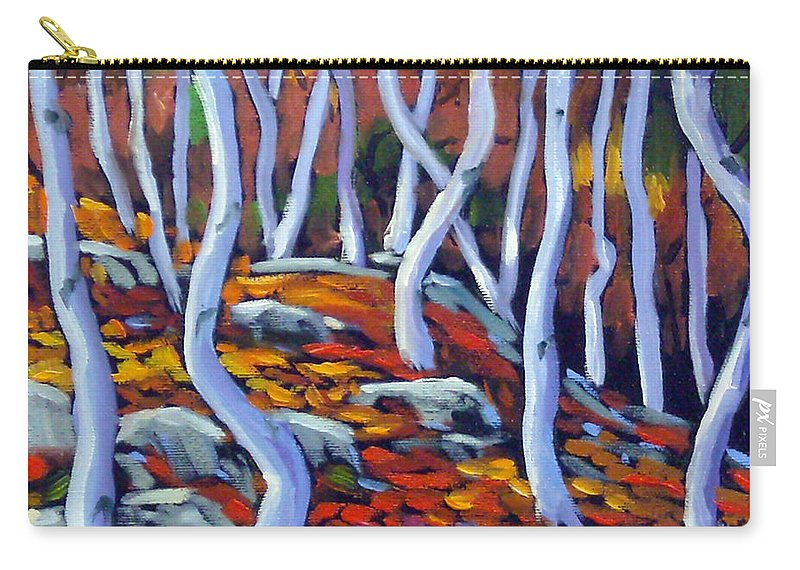 Art Carry-all Pouch featuring the painting Fantaisie No 6 by Richard T Pranke