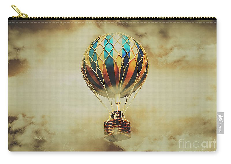 Vintage Carry-all Pouch featuring the photograph Fantasy Flights by Jorgo Photography - Wall Art Gallery