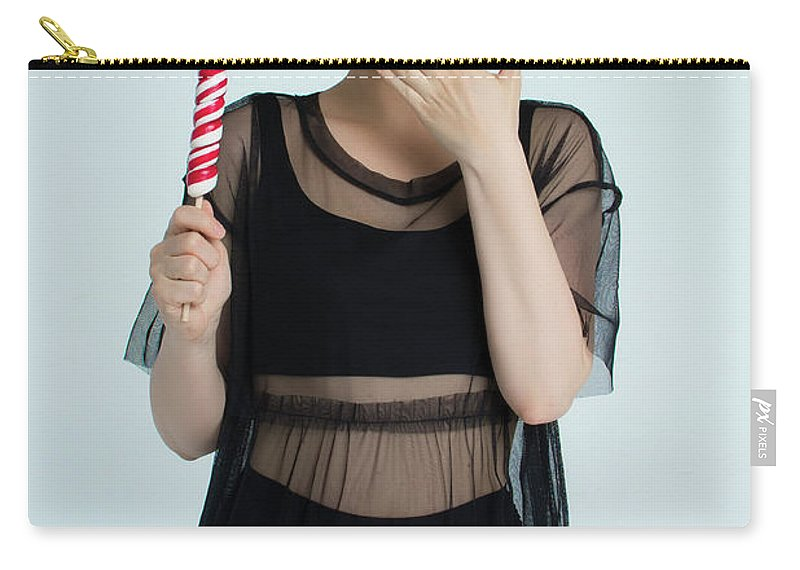 Lollipop Carry-all Pouch featuring the photograph Fashion # 25 by Igor Smirnoff