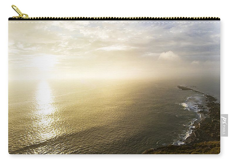 Sunrise Carry-all Pouch featuring the photograph Filey Brig by Svetlana Sewell