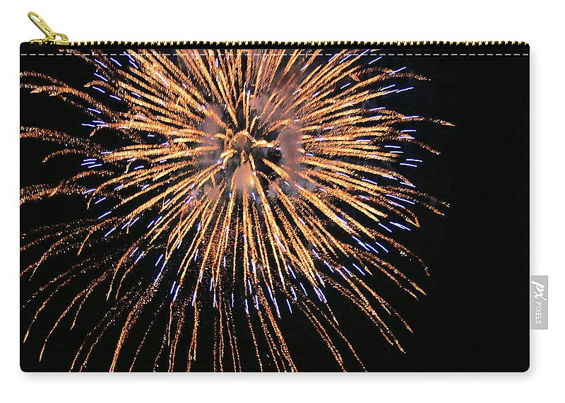 Fireworks Carry-all Pouch featuring the photograph Fireworks by Kristin Elmquist