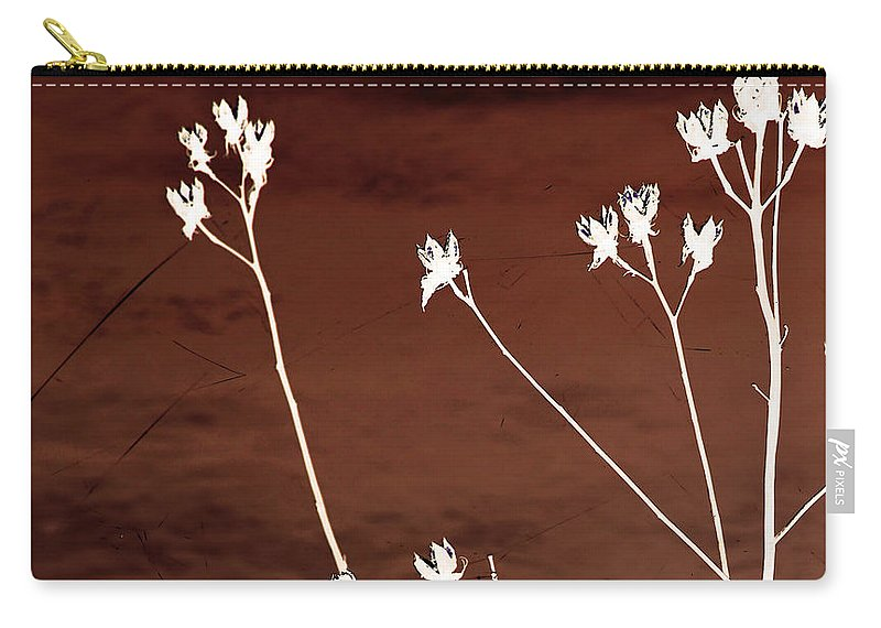 Flowers Carry-all Pouch featuring the photograph Floral by Amanda Barcon