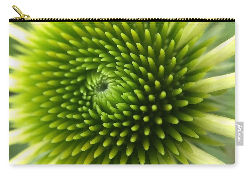 Flower Carry-all Pouch featuring the photograph Flower by Maxim Tzinman
