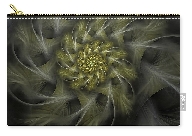 Apophysis Carry-all Pouch featuring the digital art Flower Of Hope by Amorina Ashton