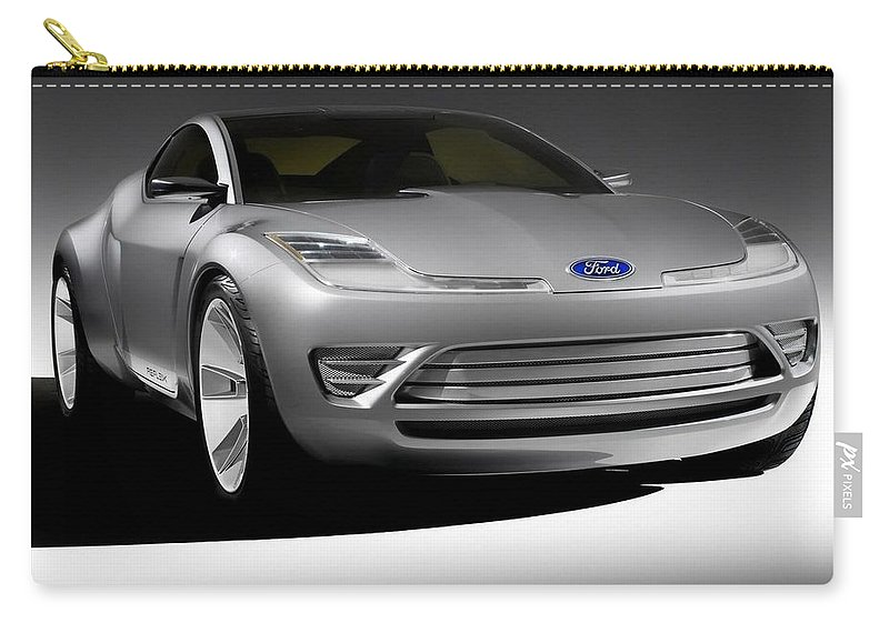 Ford Carry-all Pouch featuring the photograph Ford by Jackie Russo