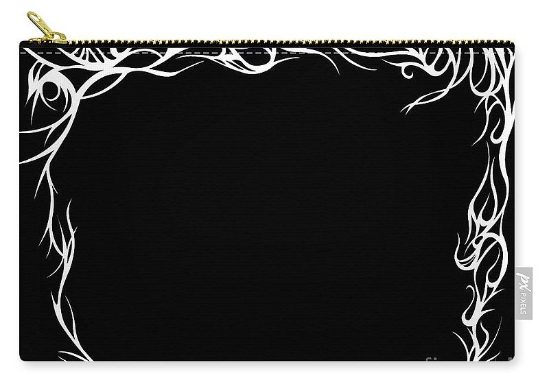 Carry-all Pouch featuring the digital art Framewave by Jamie Lynn