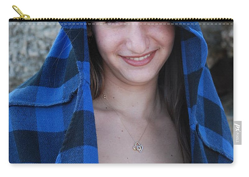 Woman Carry-all Pouch featuring the photograph Gisele by Rob Hans