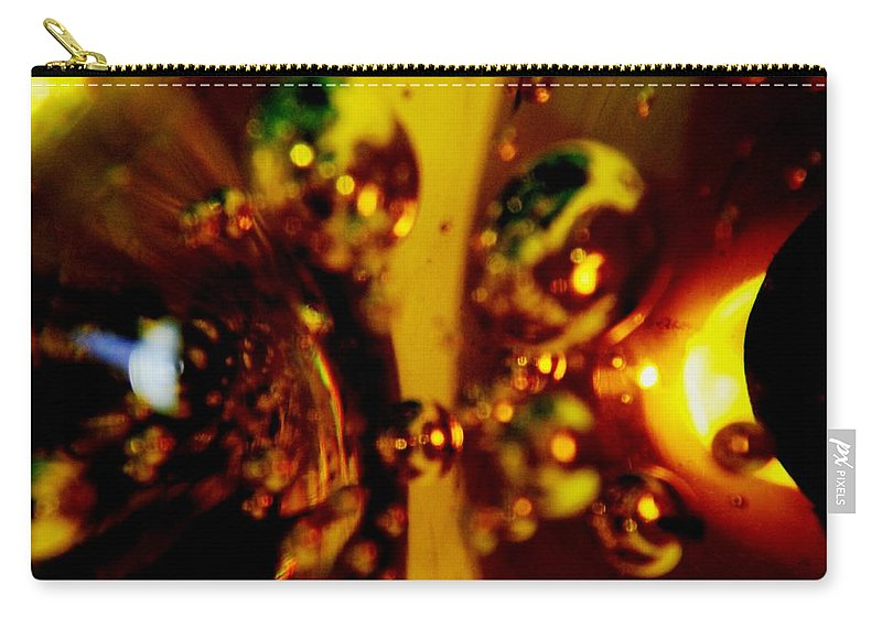 Candles Carry-all Pouch featuring the photograph Glass 4 by Lord Frederick Lyle Morris - Disabled Veteran