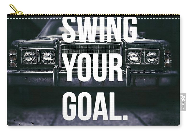 Goal Carry-all Pouch featuring the digital art Goal by Gadinie Que