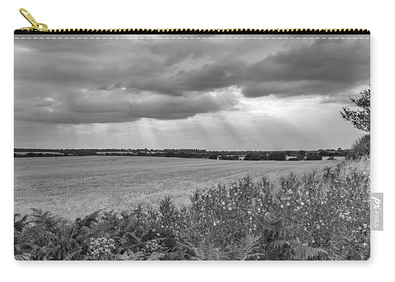 Fields Carry-all Pouch featuring the photograph Gods Light by Nick Bywater