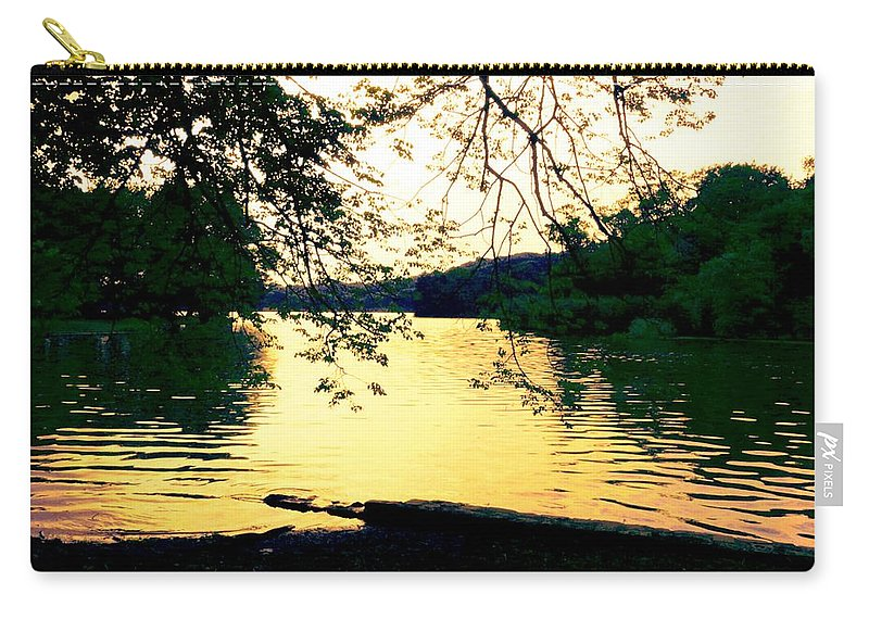 Landscape Carry-all Pouch featuring the photograph Golden Days by Kendall Eutemey