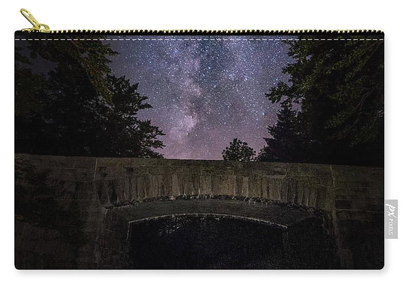 Maine Carry-all Pouch featuring the photograph Goodnight Acadia by Robert Fawcett