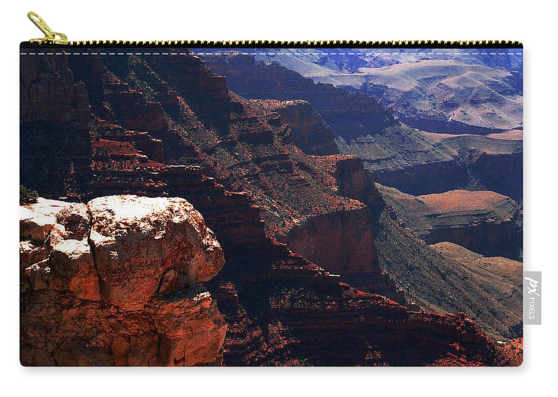 Grand Canyion Carry-all Pouch featuring the photograph Grand Canyon View by Susanne Van Hulst