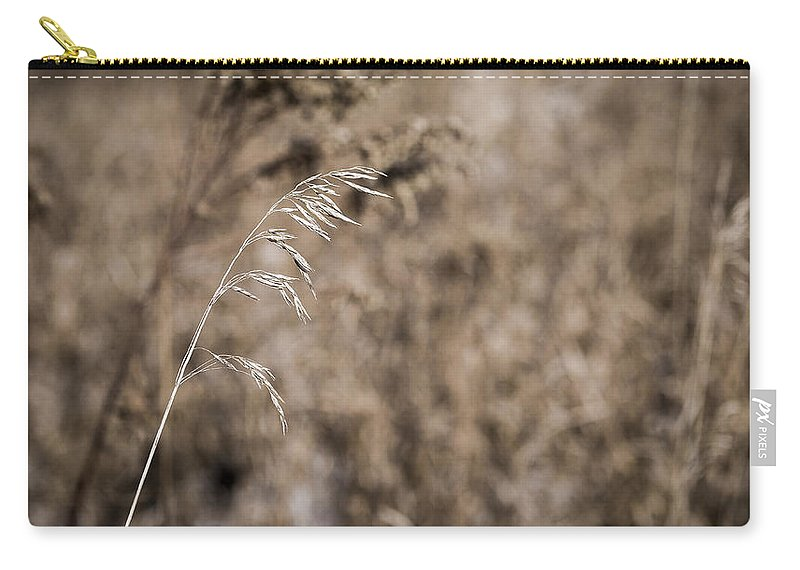 Grass Carry-all Pouch featuring the photograph Grass Blade by Steven Ralser