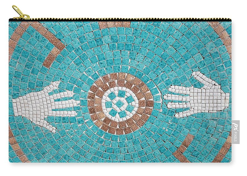 Mosaic Carry-all Pouch featuring the photograph Hans Mosaic by Rob Hans