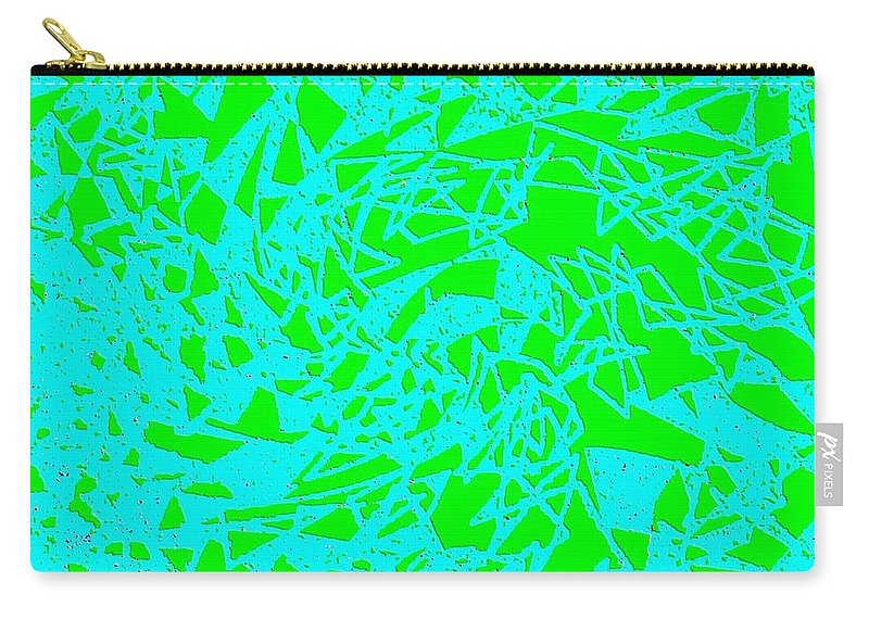 Abstract Carry-all Pouch featuring the digital art Harmony 8 by Will Borden