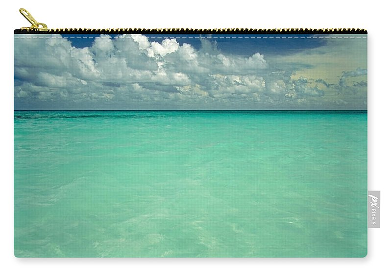 Belize Carry-all Pouch featuring the photograph Heaven by Skip Hunt