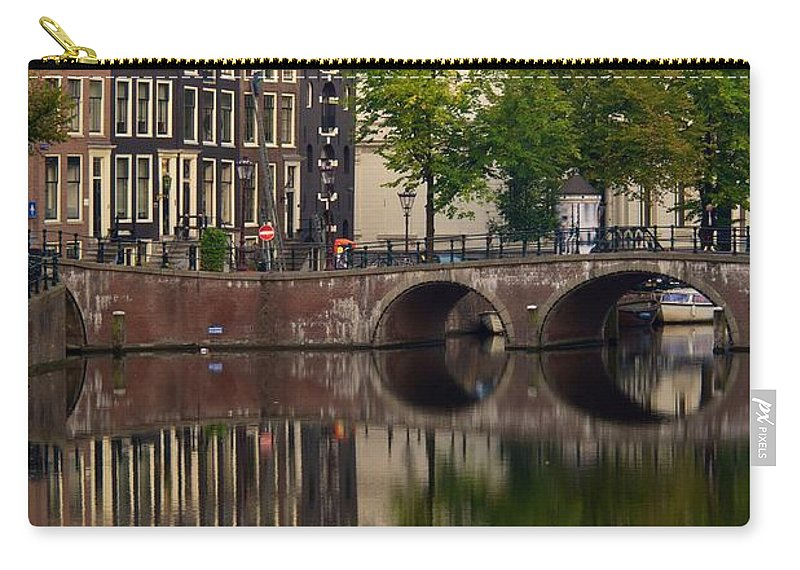 Herengratch Carry-all Pouch featuring the photograph Herengracht Canal. Amsterdam. Netherlands. Europe by Bernard Jaubert