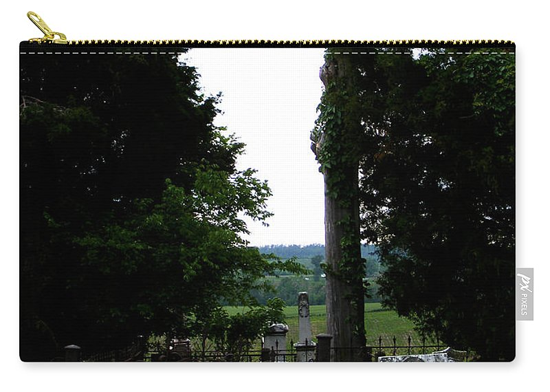Landscape Carry-all Pouch featuring the photograph Heroes Of Olmsted by Rachel Christine Nowicki