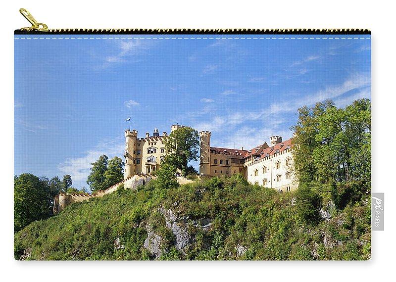 Schloss Carry-all Pouch featuring the photograph Holenschwangau Castle 2 by Bernard Barcos