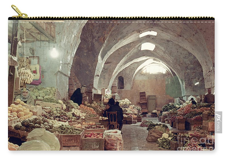 1970 Carry-all Pouch featuring the photograph Holy Land: Jerusalem by Granger